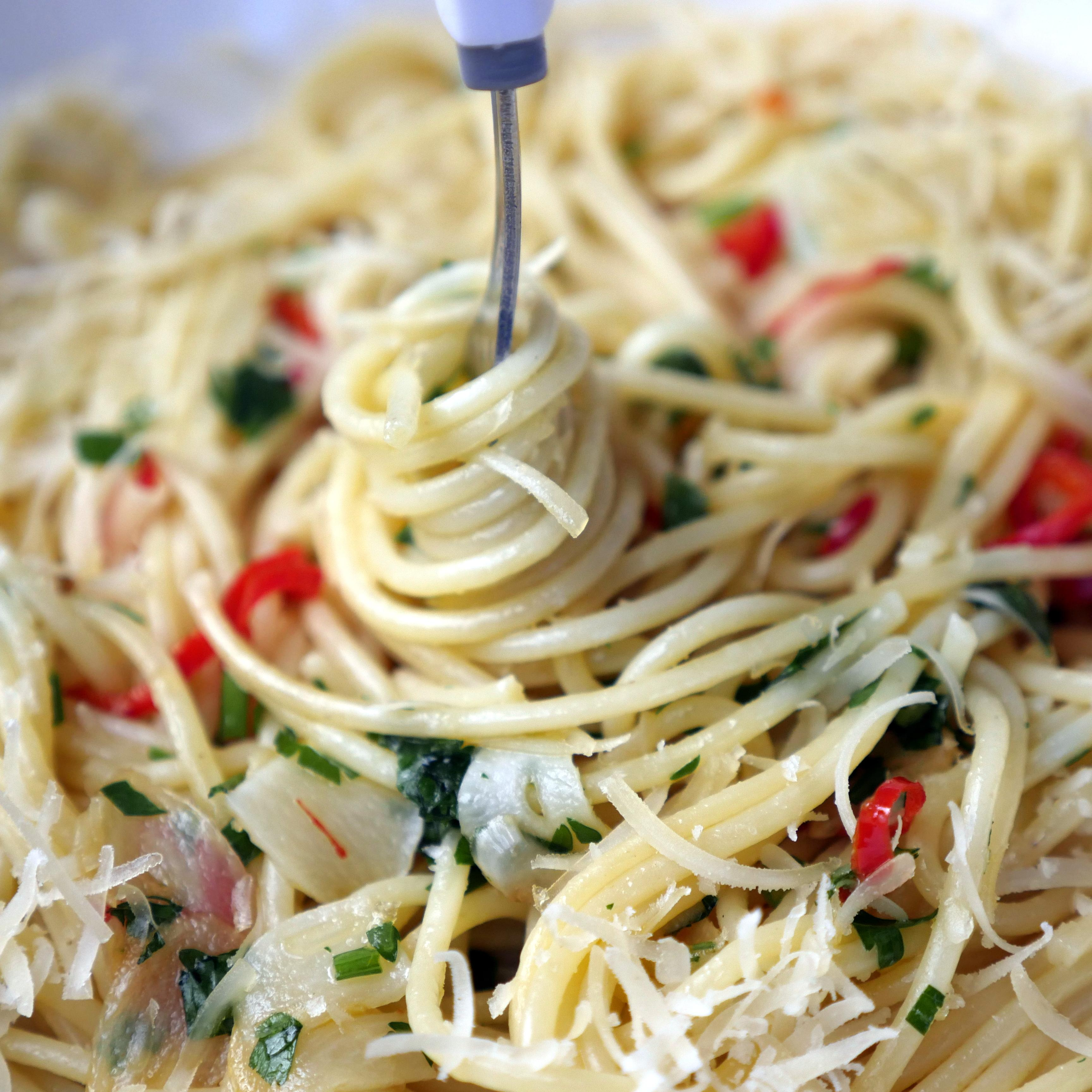 Viva Italia – spaghetti aglio olio e peperoncino